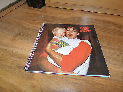 LINDA McCARTNEY - RARE 'MATEY FOR EIGHTY' DIARY FOR 1980 (FAN CLUB ONLY) PAUL