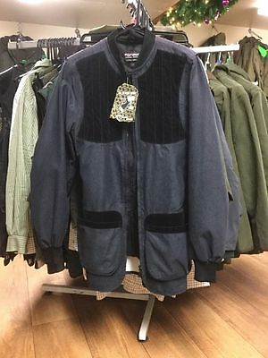 """rrp £ 50 NEW TOPGUN Clay/Country Jacket 28"""" Chest, Black"""