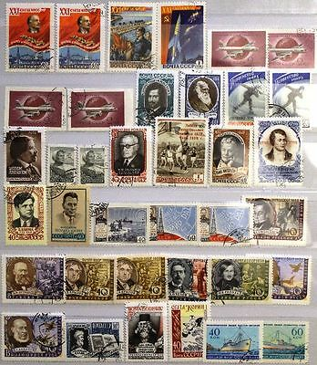 RUSSIA SOWJETUNION 1959 2190-2311 Block 28 incl. diverse Motive CTO used