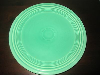"Vintage  fiesta Light Green 7"" Plate unmarked"