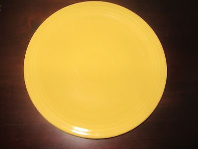 "Vintage  Genuine fiesta  Yellow 7"" Plate HLCo USA"