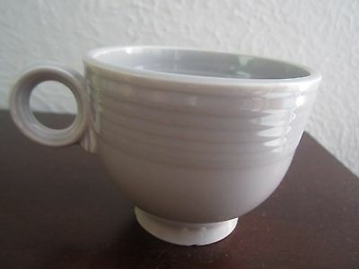 Vintage fiesta Gray Tea Cup   Ring Mug