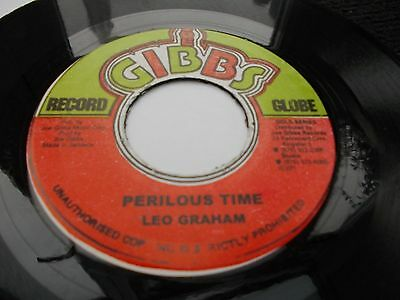 Leo Graham - Perilous Time 7' Joe Gibbs  Vg Listen
