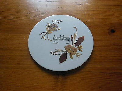 DECORATIVE 'REAL FLOWERS' TEAPOT STAND by FLOWERCRAFTS - UNUSED
