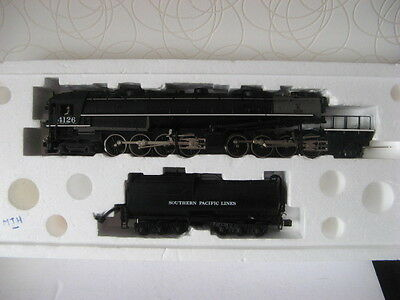 Mth O : Superbe Locomotive Americaine Cab Forward Tout Metal (Big Boy Inversee)