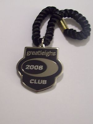 Extremely Rare CLUB MEMBER'S BADGE ~ GREAT LEIGHS 2008 - Only Year of Issue !!