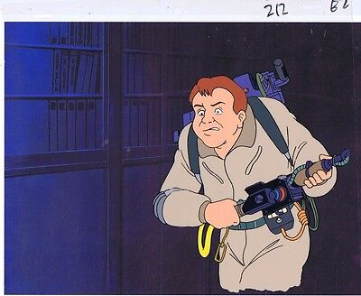 The Real Ghostbusters Original Production Animation Cel & Copy Bkgd #A16725