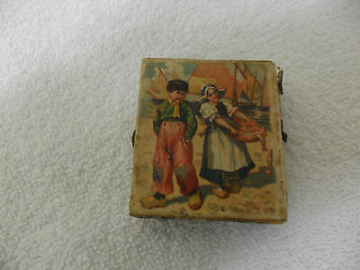 """Early Sykes of London Matches Springflap Safety Matches Matchbox,  2"""" Wide"""
