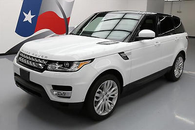 2014 Land Rover Range Rover Sport HSE Sport Utility 4-Door 2014 LAND ROVER RANGE ROVER SPORT HSE 4X4 NAV 21'S 44K #332476 Texas Direct Auto