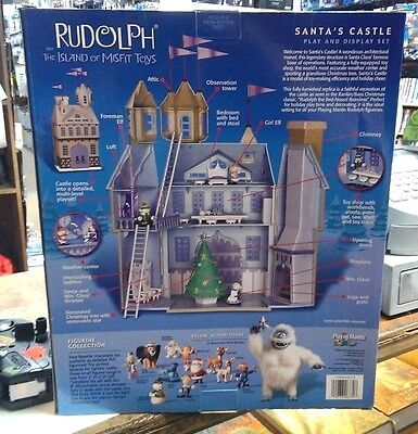 Rudolph And The Island Of Misfit Toys: Santas Castle / FACTORY Sealed - RARE !!
