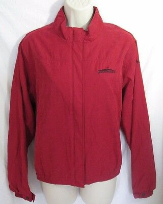 MEADOWLANDS COUNTRY CLUB Red Women's Golf Team Microfiber Jacket, by Antiqua M