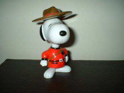 McDonalds Toy - SNOOPY MOUNTED POLICE -  1999
