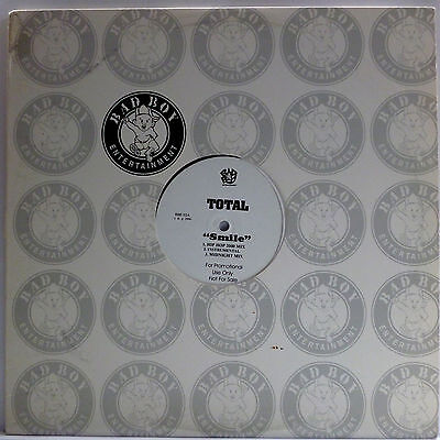 "Total : Smile + 112 : Your Letter | Bad Boy Rec. Usa 12"" Maxi Single 2000"