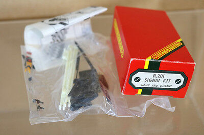 HORNBY R201 HOME & DISTANT SIGNAL SET MINT BOXED nj