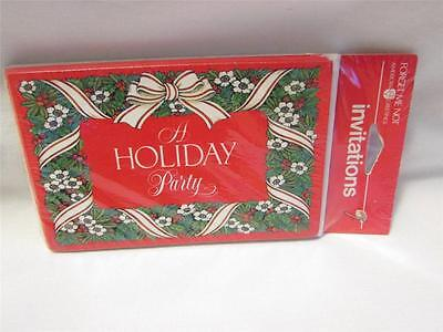Vintage American Greetings Christamas Holiday Party Invitations IOP