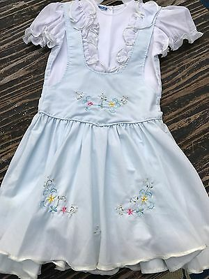 Girl's Vintage Will'Beth Dress, Size 10