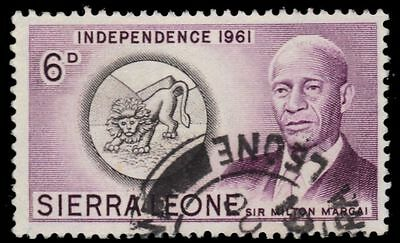 "SIERRA LEONE 214 (SG230) - Independence ""Sir Milton Margai"" (pa82763)"