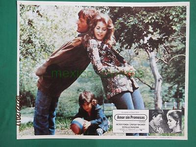 LINDSAY WAGNER No The Bionic Woman PETER FONDA TWO PEOPLE MEXICAN LOBBY CARD 2