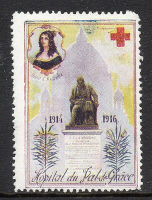 Austria 1916 Red Cross publicity poster stamp