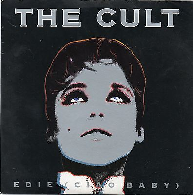 The Cult - Edie (Ciao Baby).  (Uk, 1989, Beggar's Banquet, Beg 230)