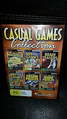 Casual Games Collection -Full version for Windows- Brand New Sealed!