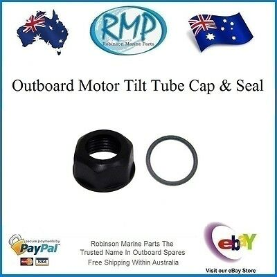 A Brand New Outboard Motor Tilt (Steering) Tube Cap And Seal # 6E5-43145-01