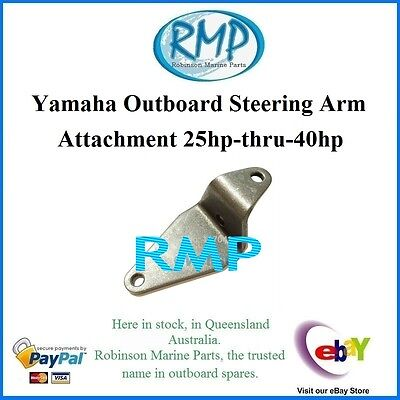 A Brand New Stainless Steel Steering Arm Attachment Yamaha 25hp-thru-40hp R