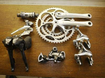 Shimano Ultegra 6500 Triple Groupset In Good Condition, Works Very Well.