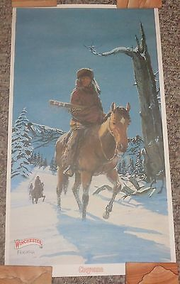 "BR2019 WINCHESTER Ferrara 1977 Poster Cheyenne approx 12x21"" NOS shipped rolled"