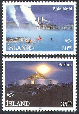 Iceland 1993 Landscapes/Tourism/Spa/Lagoon/Buildings/Architecture 2v set n27463