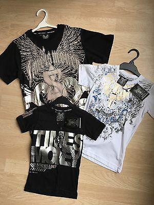 ~~3 X BNWT Boys Designer 'Time Is Money' T-Shirts, 2-3,4-5 & 12 Years~~