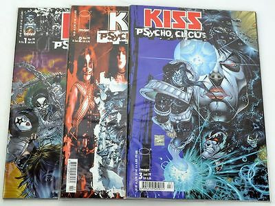 KISS - Psycho Circus BAND 1-3 + Variantcover Infinity TOP