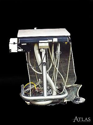 Adec 2901 Dental Doctor/Assistant Delivery Cart w/ 2 5-Hole Hose Connections