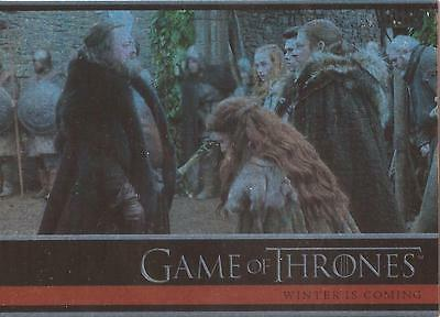 Game of Thrones Season 1 - #02 Base Parallel Foil Card