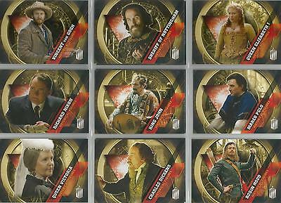 "Topps Doctor Who Timeless - ""Historical Figures"" Set of 12 Chase Cards"