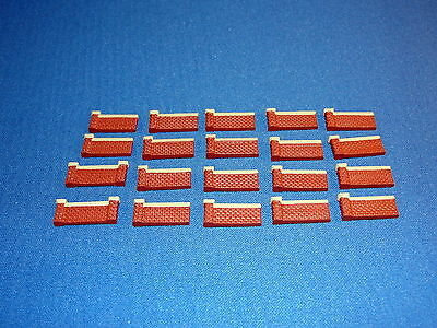 Classic Brick Wall - Z Scale - Over 300 Scale Feet