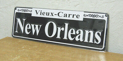 """New Orleans Street Sign  New   5"""" x  15""""  """" Vieux - Carre """""""