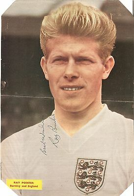 Ray Pointer - Burnley, Portsmouth, Coventry, Bury - Autographed Picture