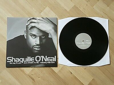 "Shaquille O' Neal: The Way It's Goin' Down (12"" UK Vinyl Pressing)"