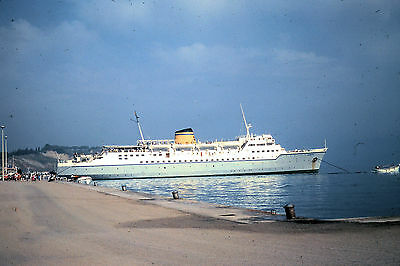 Own Photo Hml'S Egnatia At Corfu In 1978
