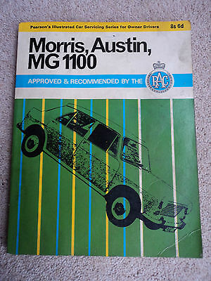 Morris Austin MG 1100 Manual  FREE POSTAGE