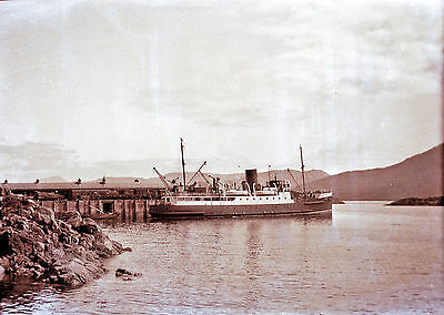 Own Photo Of Macbraynes' Steamer Lochness At Kyle 1931