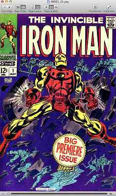 The Invincible Iron Man 1-322 + Annuals 1-15 - comics on DVD