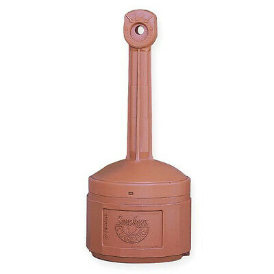 Justrite LARGE Smokers Cease Fire Cigarette Urn Receptacle Terra Cotta 26800T