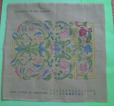 Royal School of Needlework Printed Tapestry/Embroidery Canvas
