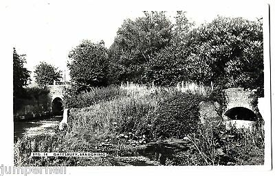 BRAUGHING, Hertfordshire - Gatesbury, streams and bridges - Frith RP c.1960