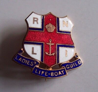 RNLI Ladies Guild pin badge, Caxton,Westminster