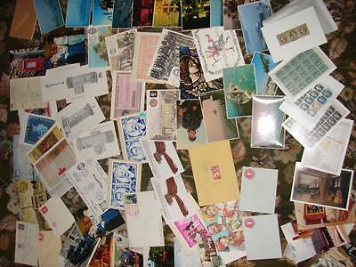 (phq400)  Post office museum cards +others mint & special handstamped on mass