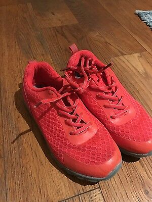 Mountain Warehouse orange trainers  sport shoes size 2