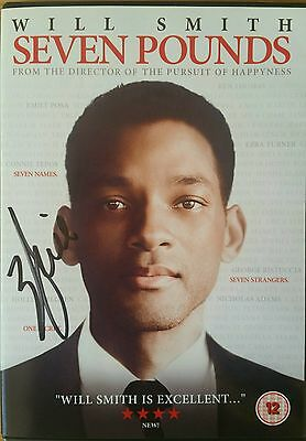 Will Smith Seven Pounds Hand Signed DVD + COA